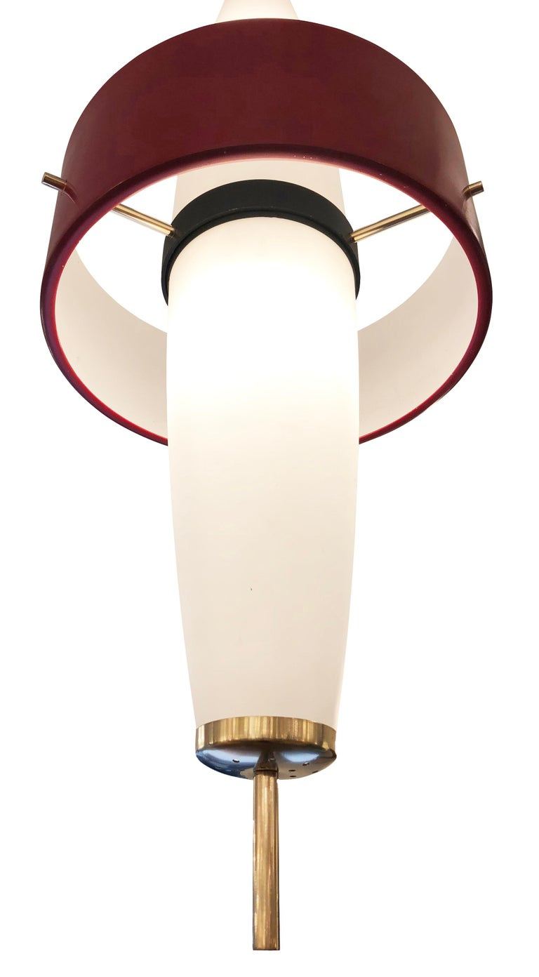 Stilnovo Pendant, Italy, 1960s In Good Condition For Sale In New York, NY