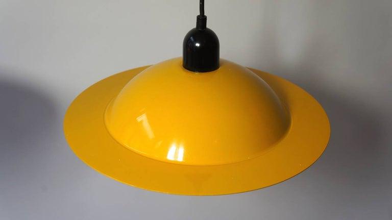 Metal Two Stilnovo Pendant Lamps For Sale