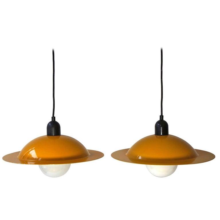 Two Stilnovo Pendant Lamps For Sale
