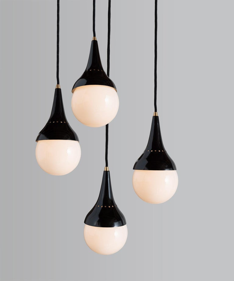 Stilnovo pendants, Italy, 1950.
