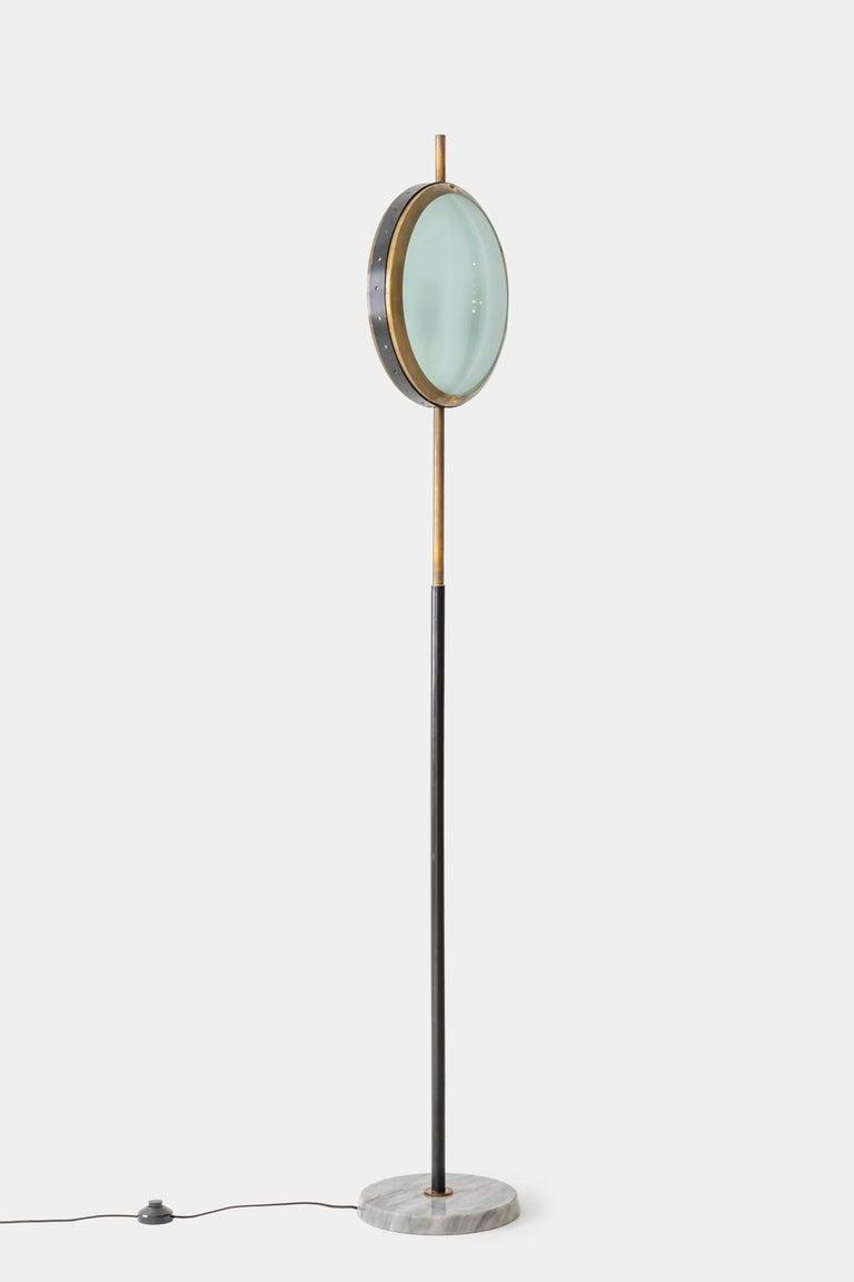 Mid-Century Modern Stilnovo Rare Floor Lamp For Sale