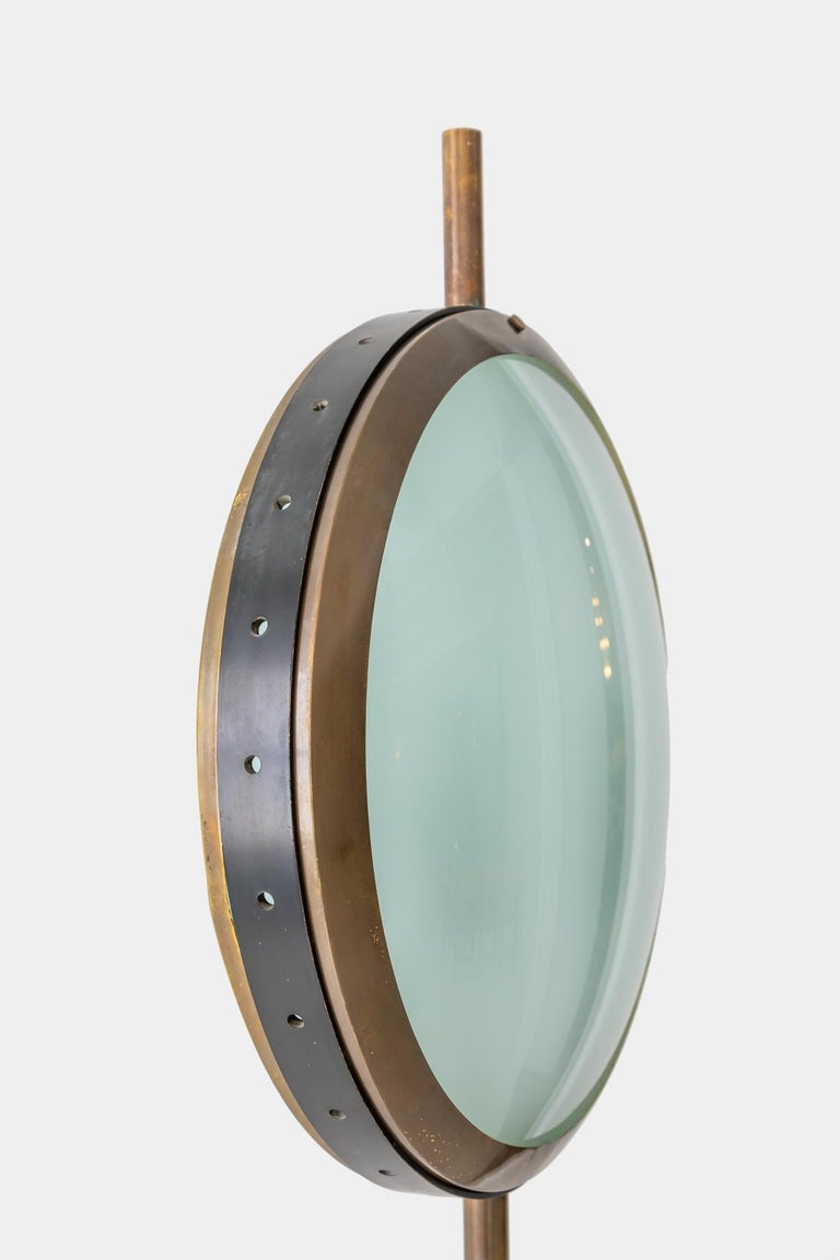 Enameled Stilnovo Rare Floor Lamp For Sale
