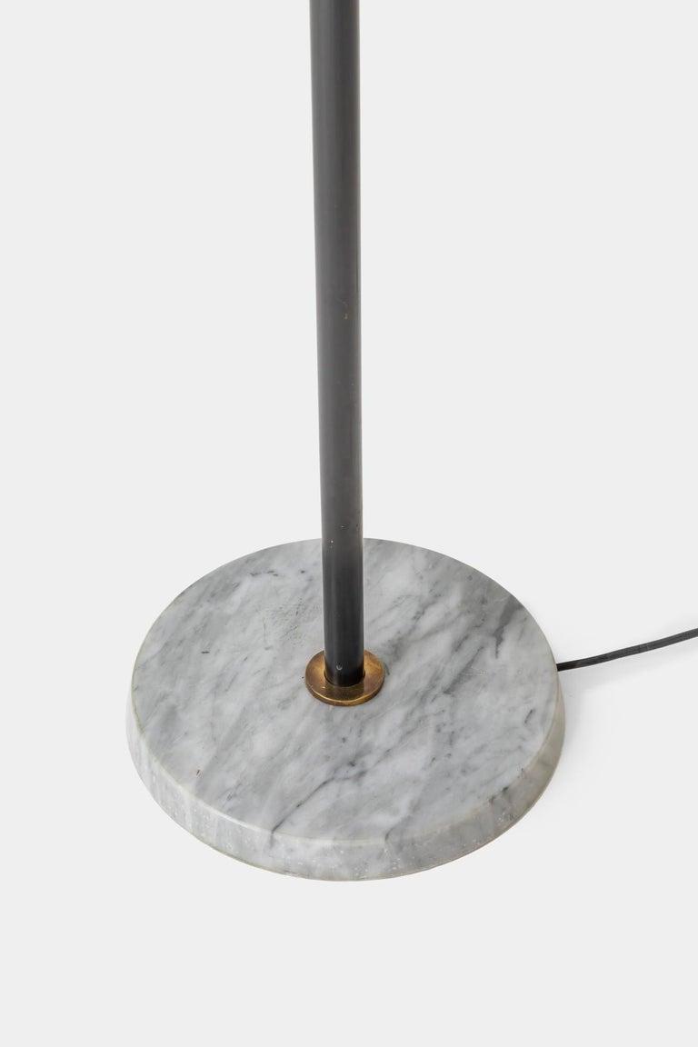 Brass Stilnovo Rare Floor Lamp For Sale