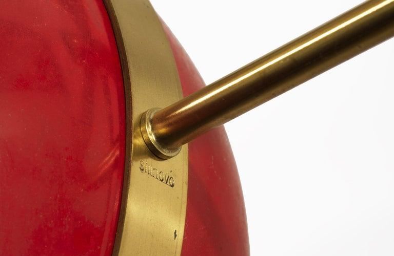 Stilnovo 'Saturno' Chandelier, Signed For Sale 12