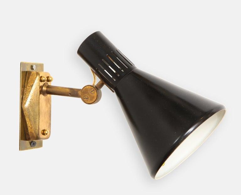 Italian Stilnovo Pairs of Sconces Model 2086 For Sale