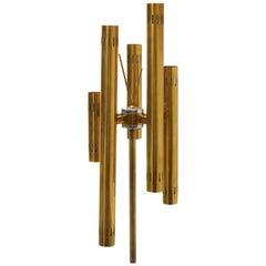 Stilnovo Stile Floor Lamp Brass, 1950, Italy