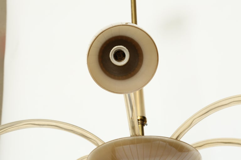 Stilnovo Style Italian Chandelier For Sale 4