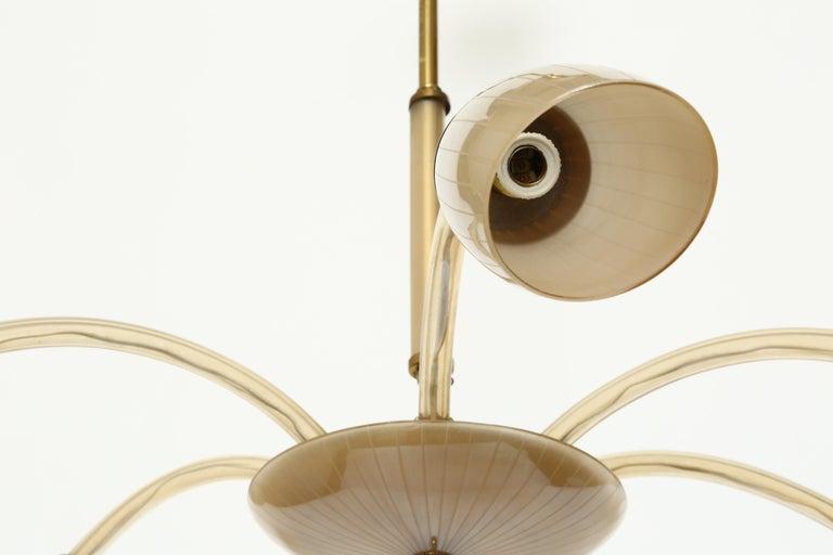 Stilnovo Style Italian Chandelier For Sale 5