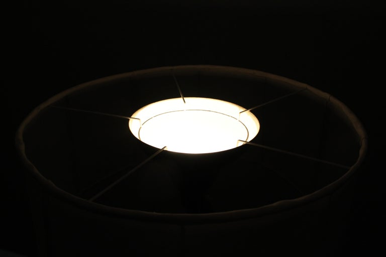 Midcentury Brass Floor Lamp Stilnovo Style Production Italy 1950s  For Sale 9