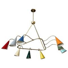 Stilnovo Style Triangular Pendant