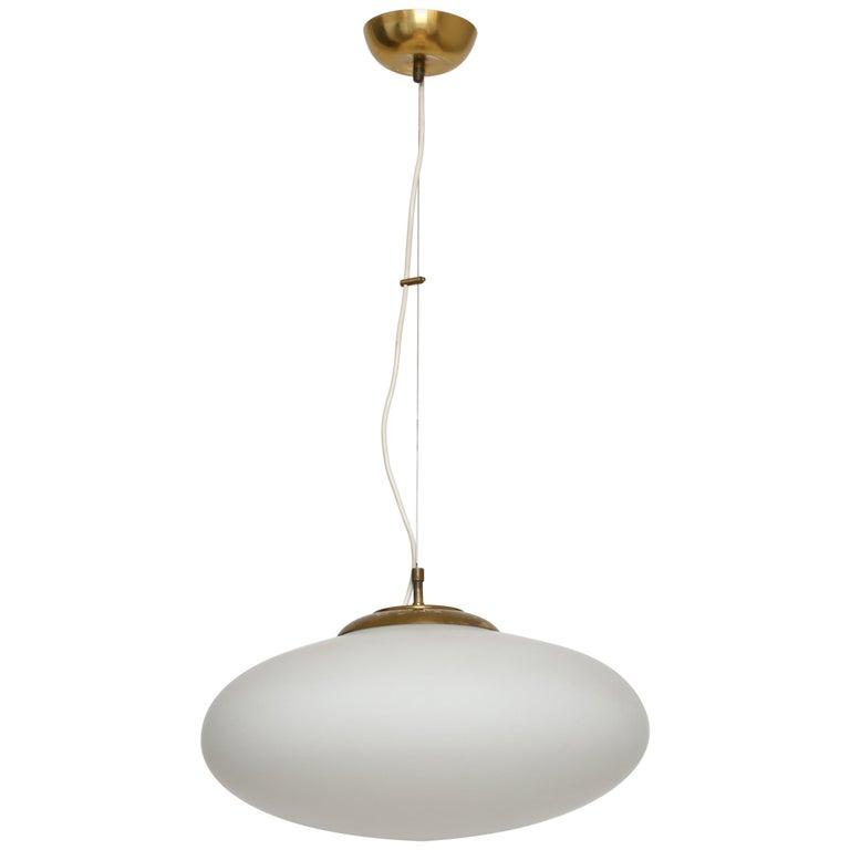 Stilnovo Style UFO Ceiling Pendant For Sale