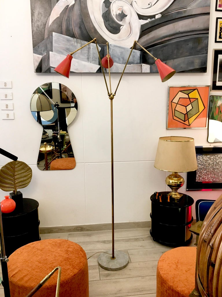 Stilnovo Triennale Floor Lamp, 1950s For Sale 1