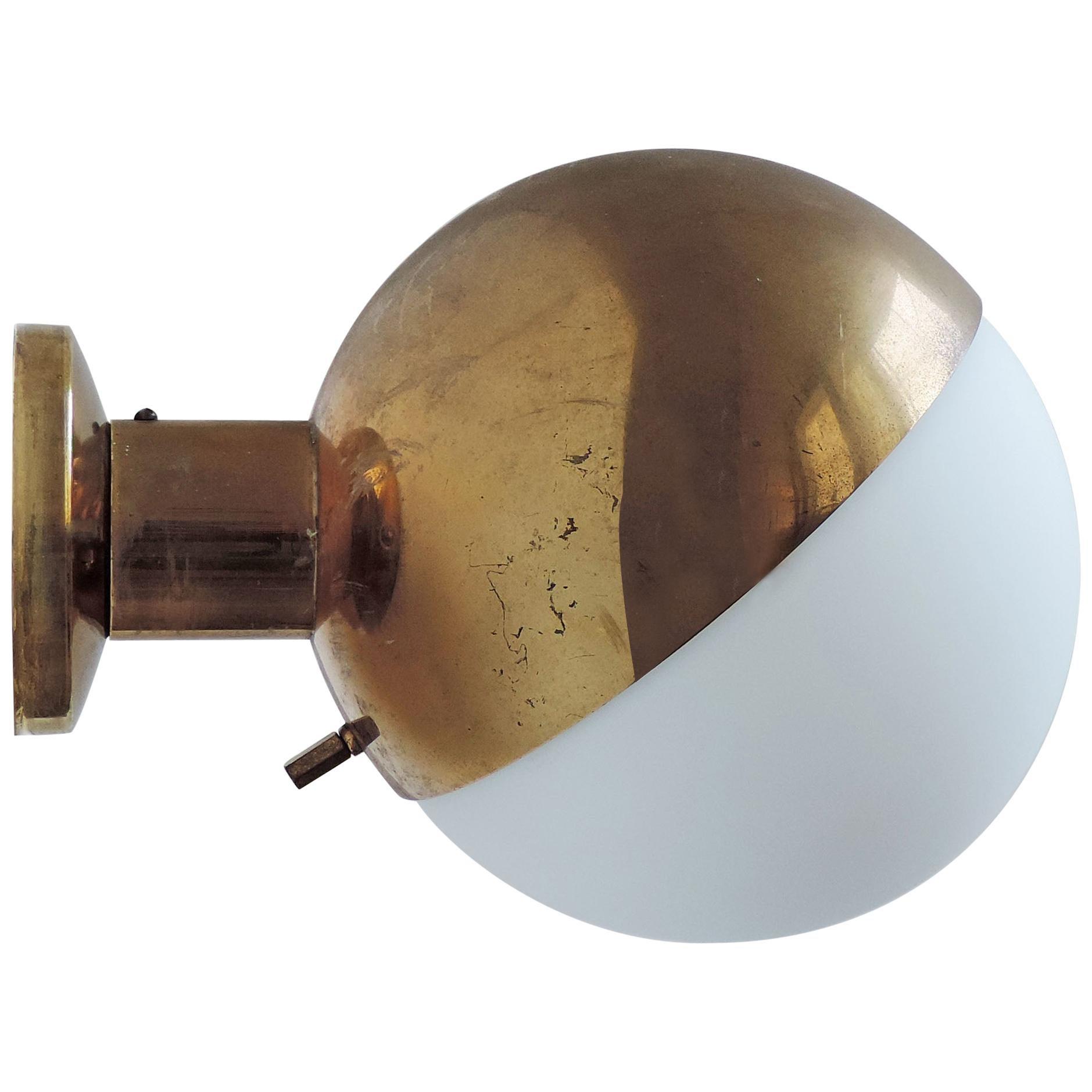 Stilnovo Wall Lamp, Italy 1950s