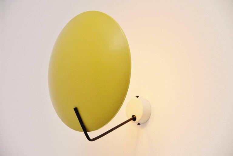 Mid-Century Modern Stilnovo Wall Lamp Model 232 by Bruno Gatta, Italy, 1962 For Sale