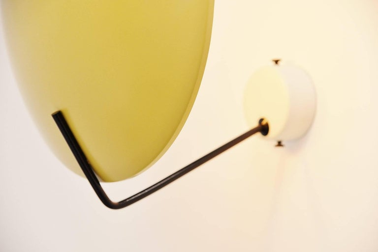 Italian Stilnovo Wall Lamp Model 232 by Bruno Gatta, Italy, 1962 For Sale