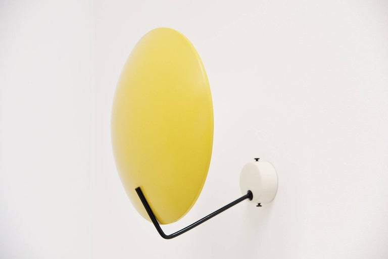 Mid-20th Century Stilnovo Wall Lamp Model 232 by Bruno Gatta, Italy, 1962 For Sale