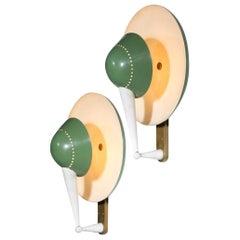 Stilnovo Wall Lights, Model B4917, Italian Design