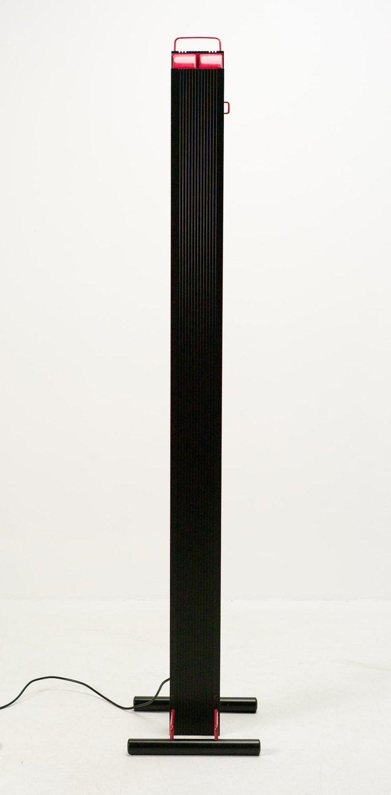 Anodized Stilnovo Zagar Floor Lamp For Sale