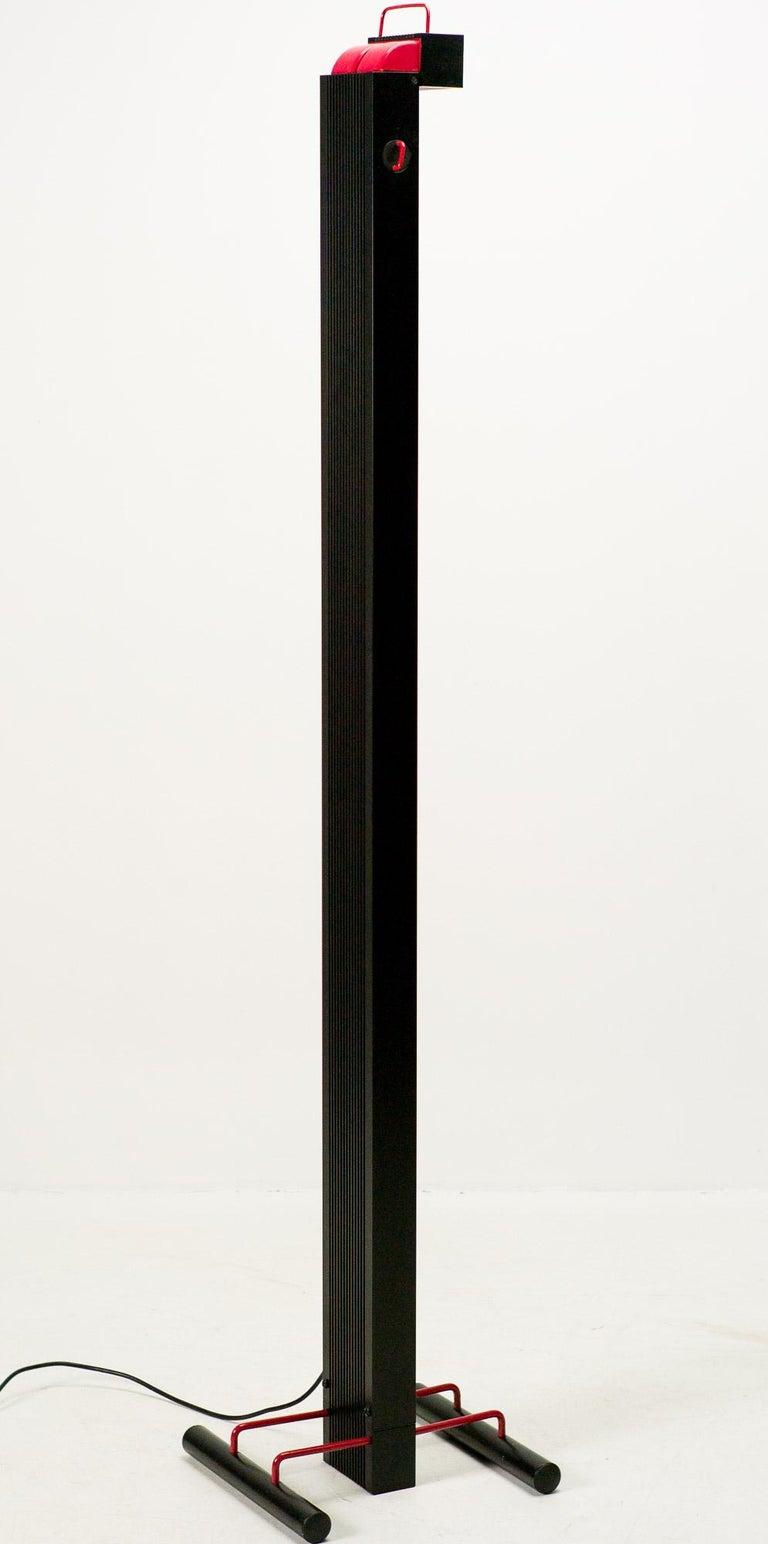 Late 20th Century Stilnovo Zagar Floor Lamp For Sale