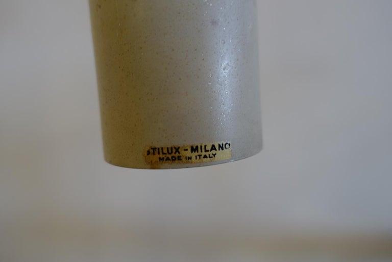 Stilux Milano Midcentury Red Table Lamp, 1970s 5