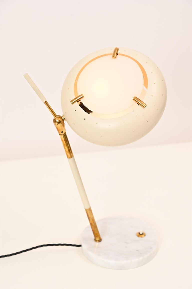 Stilux Table Light, circa 1950 In Good Condition For Sale In London, GB