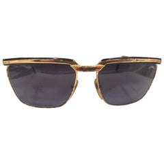 Sting black lens gold sunglasses