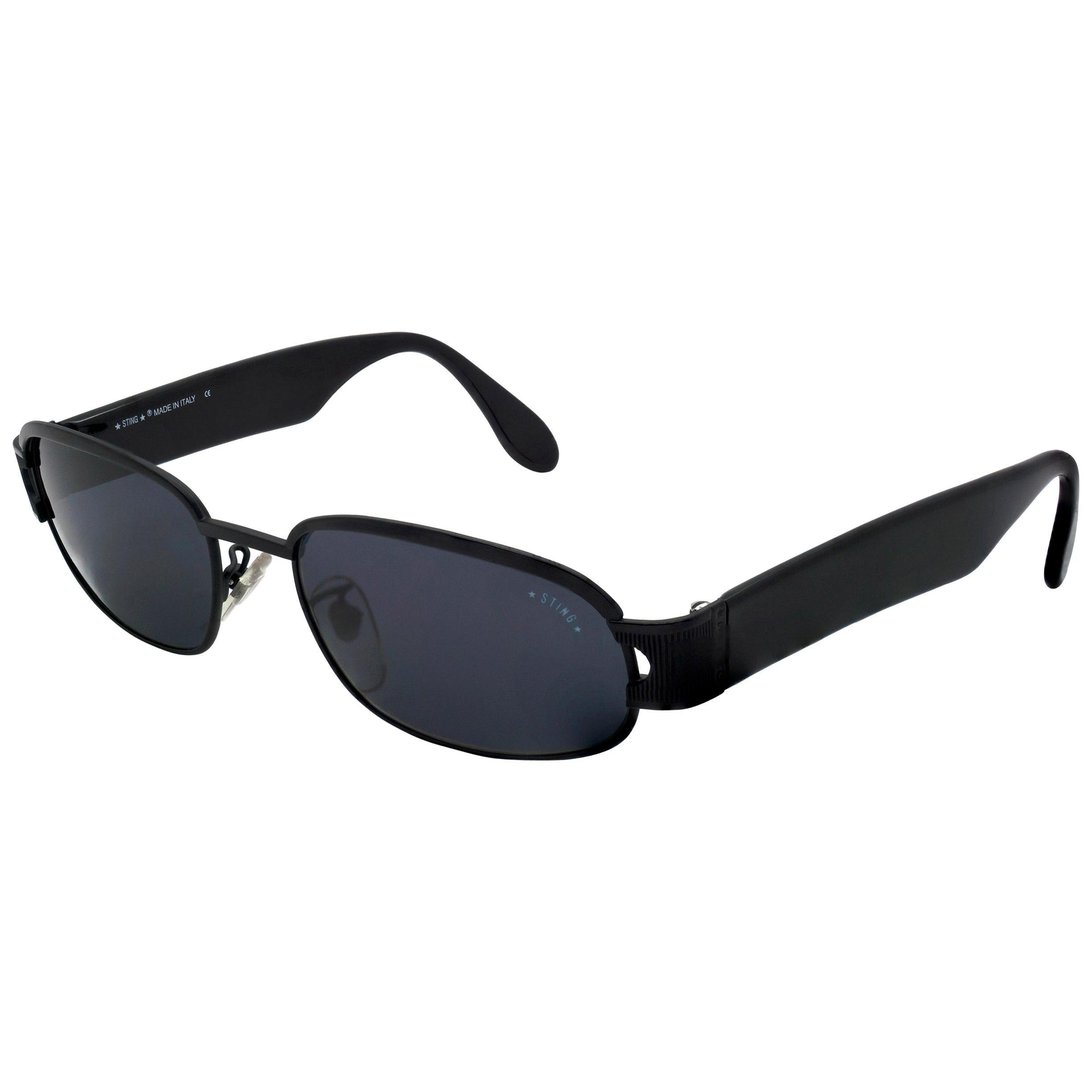 Sting black vintage sunglasses