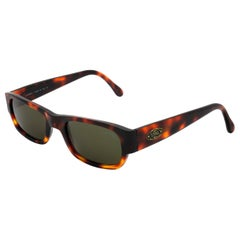 Sting narrow tortoise sunglasses, made in Italy