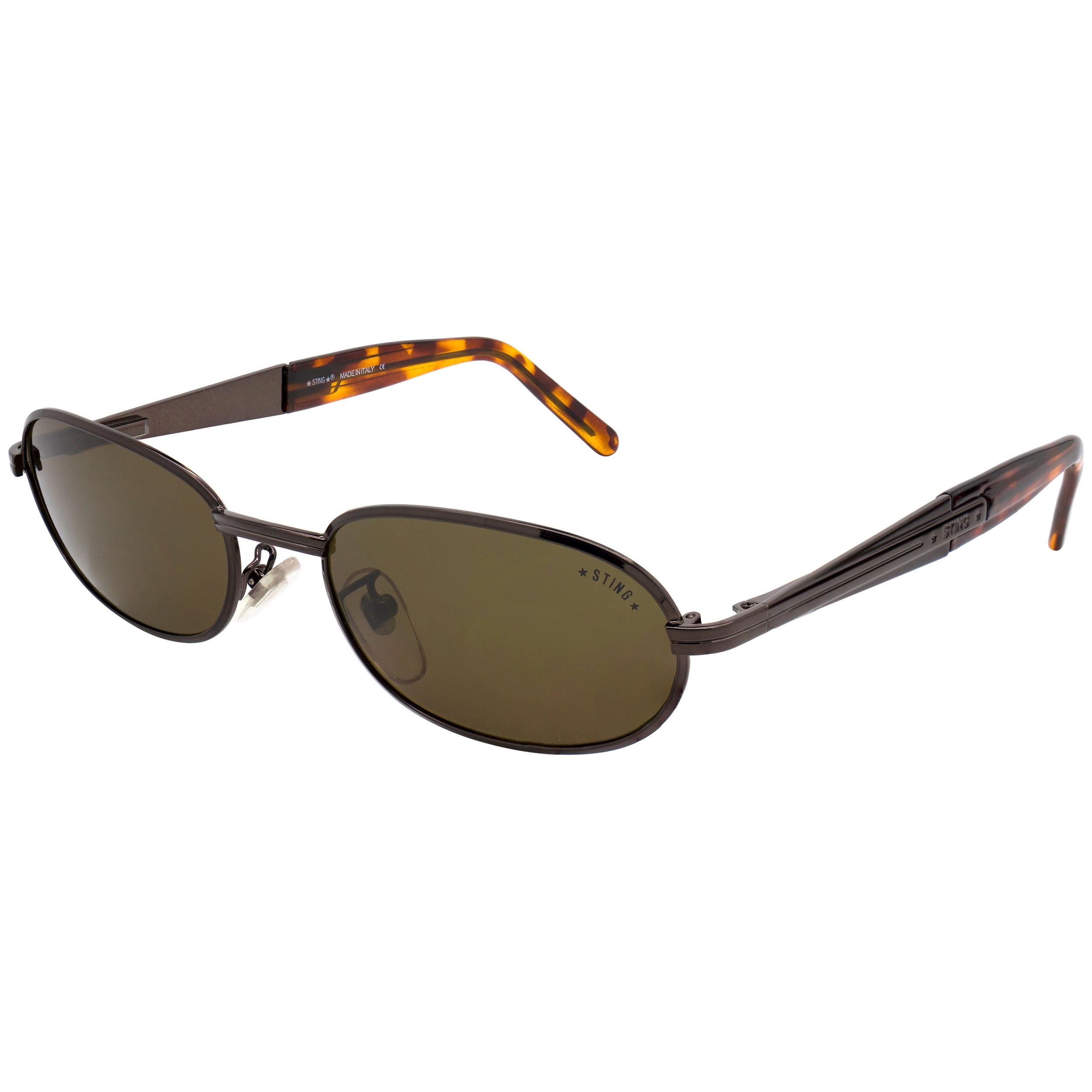 Sting oval vintage sunglasses, Italy