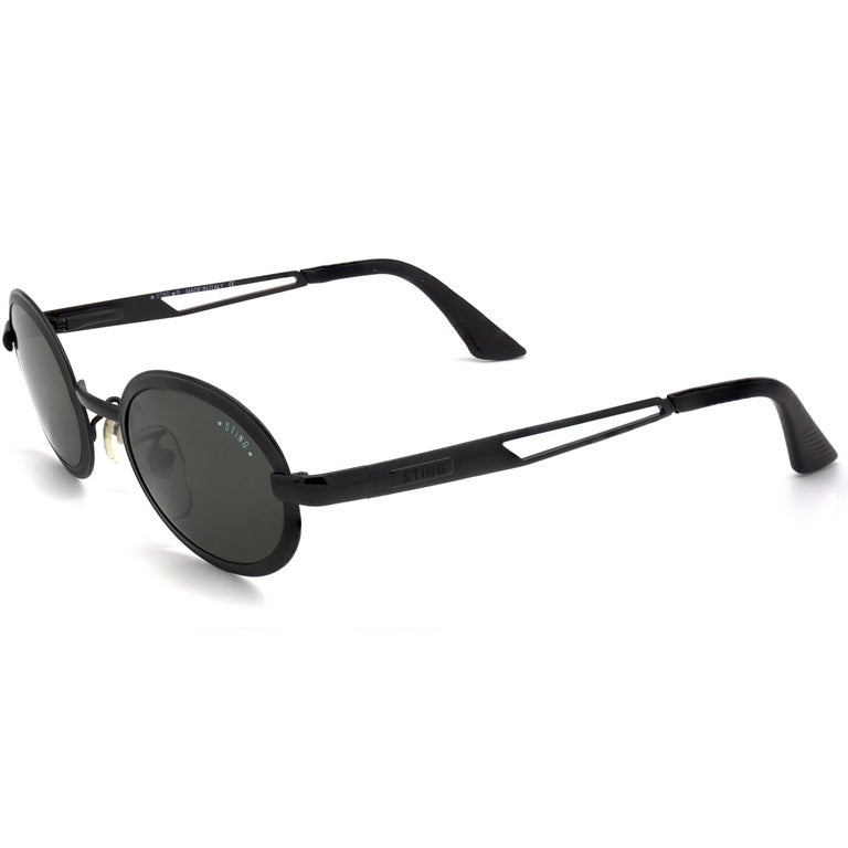 Sting steampunk sunglasses, Italy  In New Condition For Sale In Feasterville Trevose, PA