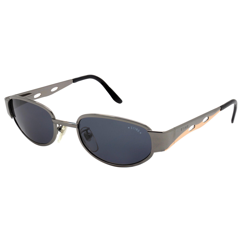 Sting vintage sunglasses art deco, Italy 90s
