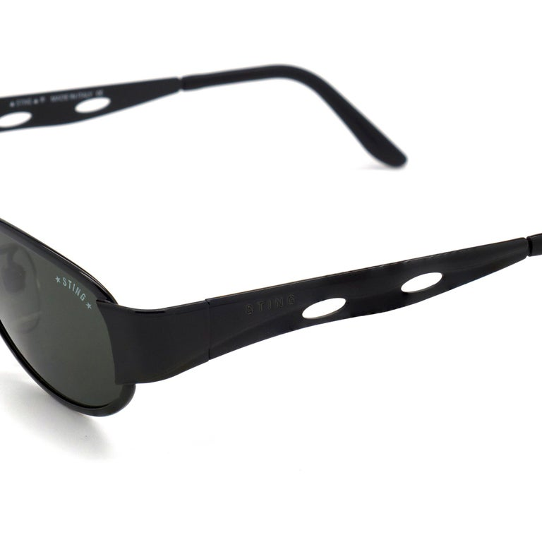 Sting vintage sunglasses, Italy 90s In New Condition For Sale In Feasterville Trevose, PA