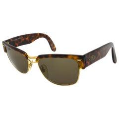 Sting vintage sunglasses tortoiseshell, Italy 90s