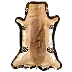 Stitch Animal Skin Rug or Carpet with a Happy Face