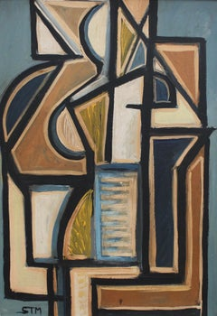 Cubist Composition in Colour