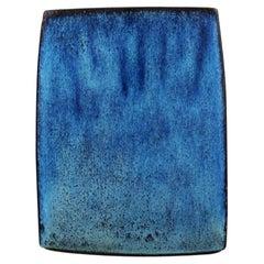 Stogo, Denmark, Stylish Vase in Glazed Ceramics, 1960s-1970s