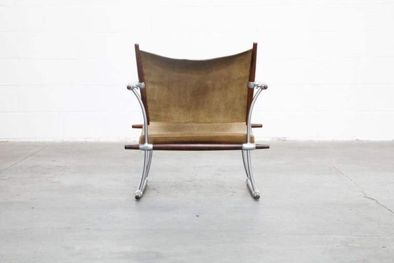 'Stokke' Lounge Chair by Jens H. Quistgaard for Nissen Langaa, 1960s, Signed For Sale 3