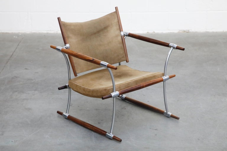 Mid-20th Century 'Stokke' Lounge Chair by Jens H. Quistgaard for Nissen Langaa, 1960s, Signed For Sale