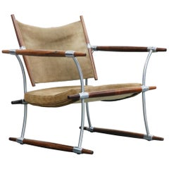 'Stokke' Lounge Chair by Jens H. Quistgaard for Nissen Langaa, 1960s, Signed