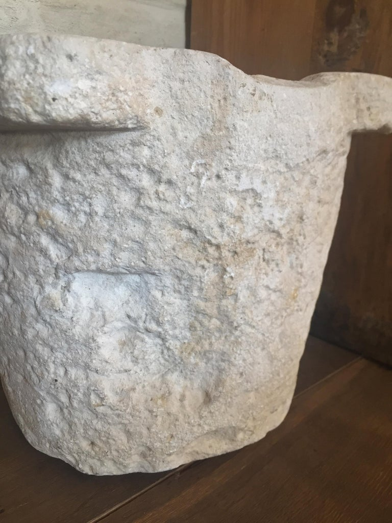 Stone 17th Century Mortar For Sale 1