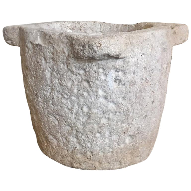 Stone 17th Century Mortar For Sale