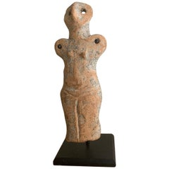 Stone Age Ceramic Mother Goddess Statuette