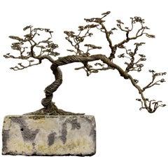 Stone and Iron 'Bonsai' Tree Sculpture by Bastiaan Beun, 2020