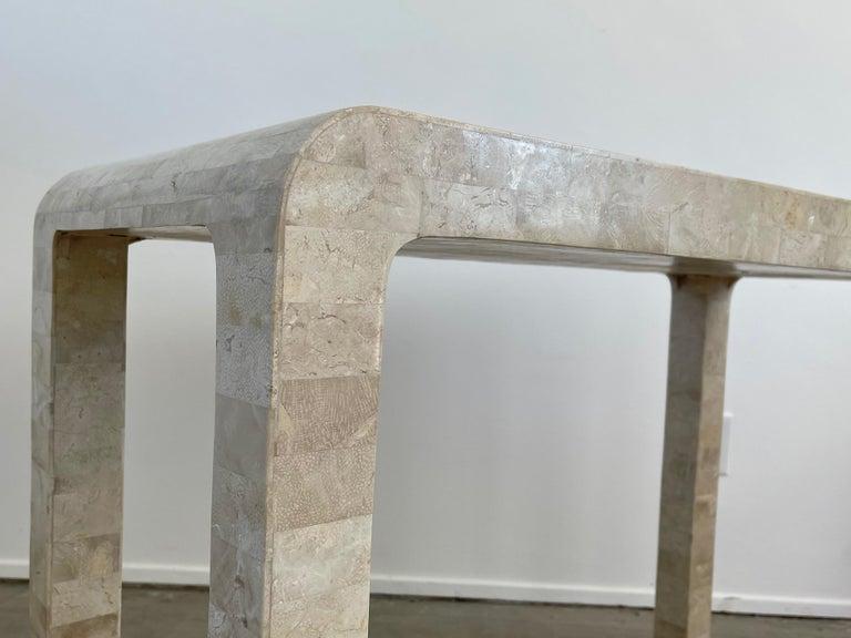 Stone Backgammon/Checkers Table For Sale 6