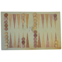 Stone Backgammon Game Set