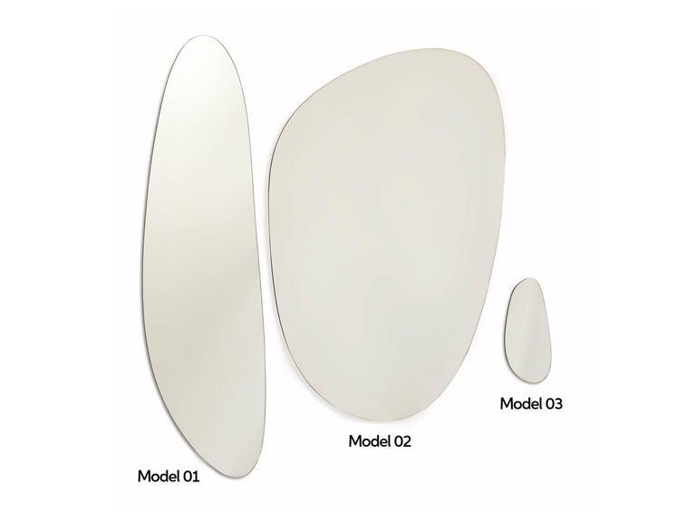Stone Brazilian Contemporary Mirrors by Lattoog In New Condition For Sale In Rio de Janeiro, RJ