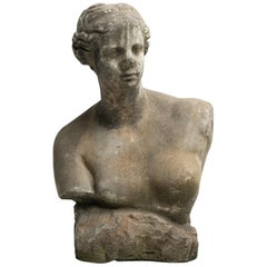 Stone Female Bust