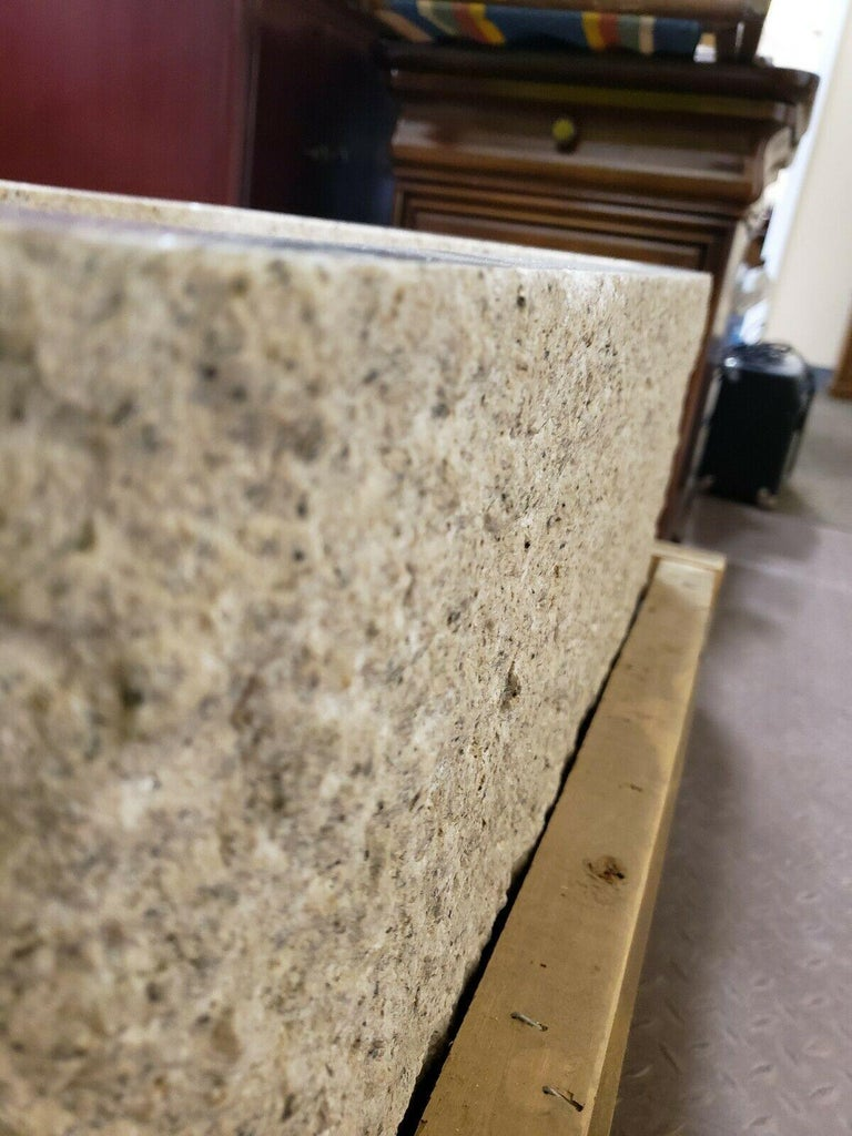 Stone Forest Beige Granite Hand Carved
