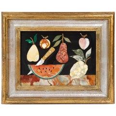 Stone Fruit Mosaic by Bruno Fantechi for G. Ugolini