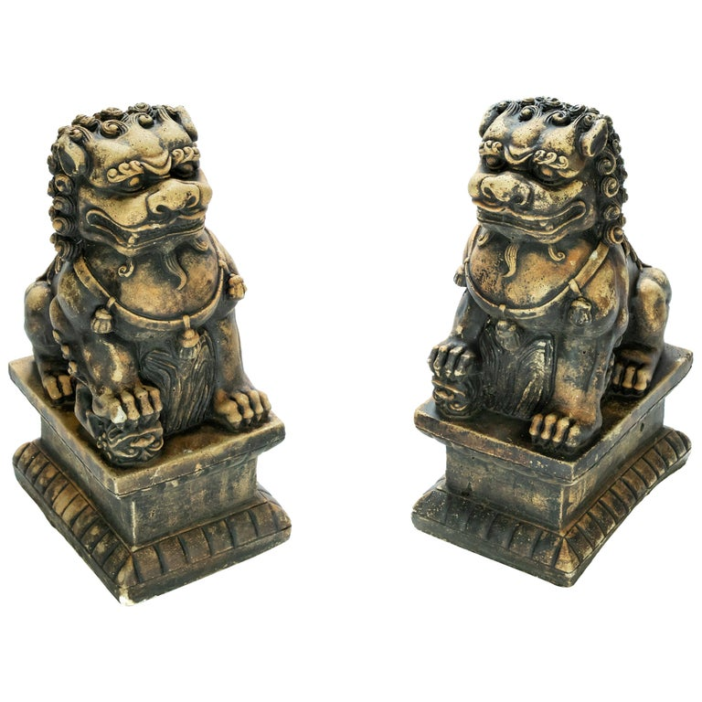 Stone Guardian Foo Lions For Sale